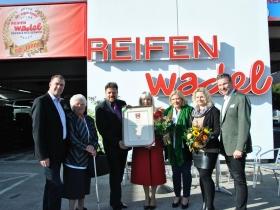 Verleihung des Stadtwappens der Stadt Klagenfurt
